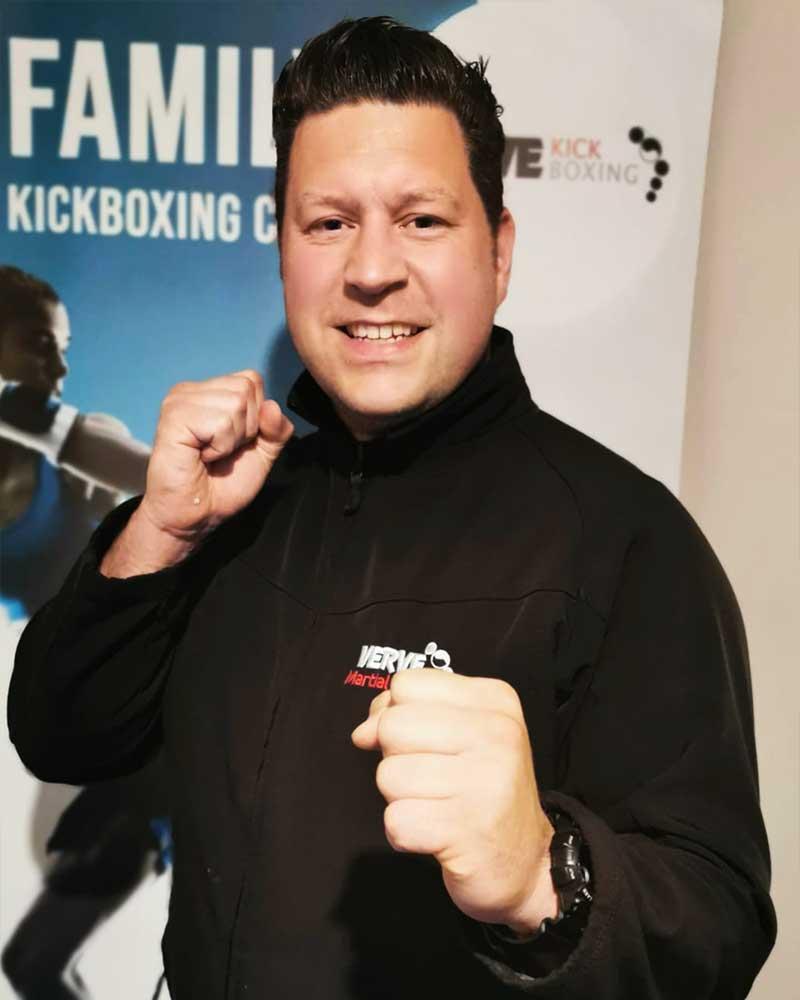 Mr Carl Trevitt III Dan Verve Kickboxing